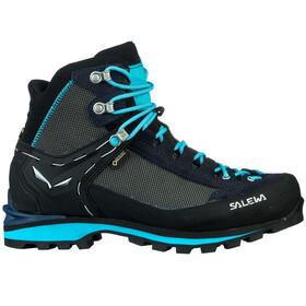 Salewa W's Crow GTX Shoes Premium Navy/Ethernal Blue